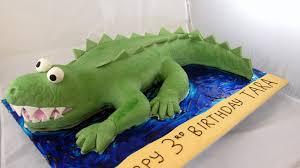 crocodile cake sweet imagination