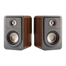 Bookshelf Audio Speakers Polk Audio S15 Bookshelf Speaker Walnut Pair Huppin U0027s