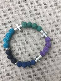 multi color lava l multi colored lava rock essential oil aromatherapy diffuser bracelet