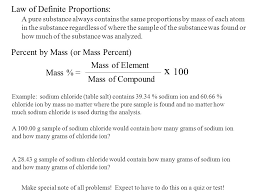 law of conservation of mass ppt download