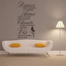 high quality in a sentence buy cheap in a sentence lots from high wall art aya diy wall stickers wall decal french sentences pvc wall stickers 42
