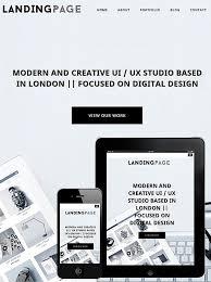landing page wordpress theme dessign theme