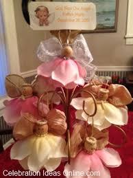 Angel Decorations For Baby Shower Home Design Elegant Easy Baptism Centerpieces Diy Baby Shower