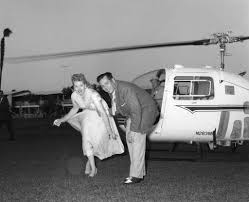 lucille ball and desi arnaz arriving by helicopter to the u2026 flickr
