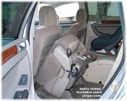 how many seats does a car reviews 2004 2006 chrysler pacifica