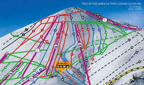 Ski Resorts In Colorado Map by Trail Map El Colorado Farellones