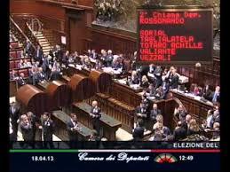 parlamento seduta comune 18 aprile 2013 elezione capo dello stato parlamento in