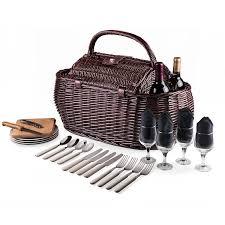 amazon com picnic time gondola pixels collection picnic basket