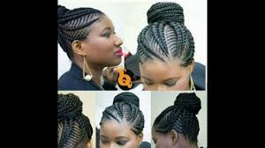 types of braiding hair weave braiding weave hairstyles latest ghana weaving for ladies youtube