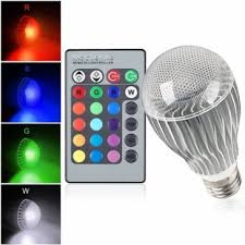 color changing light bulb with remote 10 watt color changing led light bulb with remote control powered