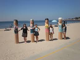 beach and bollards u2013 kaitlyn o u0027hagan