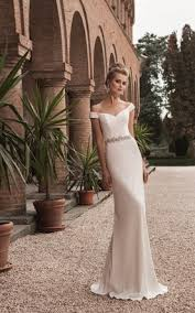 the shoulder wedding dresses satin bridal gowns bridal dresses with high quality satin june
