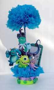 Baby Shower Table Centerpieces by Monsters Inc Decoration Birthday Baby Shower By Tutucutekreations