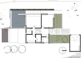 contemporary split level home in aalen germany floor lower plan