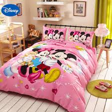 Pink And Black Polka Dot Bedding Compare Prices On Mickey Minnie Mouse Bedding Online Shopping Buy
