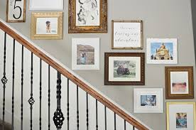 Wall Stairs Design Staircase Gallery Wall Tutorial Remington Avenue