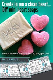 creative sunday crafts diy mini heart soaps create in me