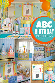 1st birthday party ideas boy abc themed 1st birthday party spaceships and laser beams