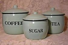 green kitchen canisters sets green kitchen canister sets ebay