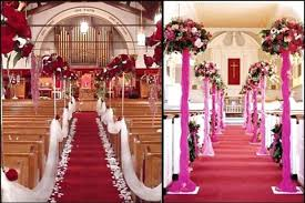 church decorations for wedding wedding church decoration church wedding decor wedding