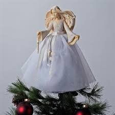 angel christmas tree topper angel christmas foundations tree topper 4026907 flossie s