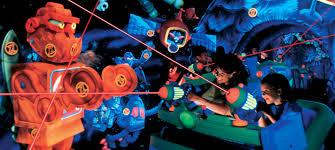 buzz lightyear astro blasters tomorrowland attractions