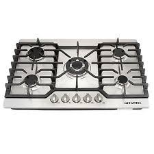 30 Stainless Steel Gas Cooktop 30 Gas Cooktop Ebay
