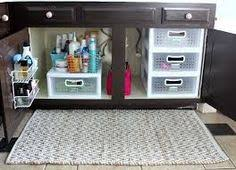 bathroom cabinet organization ideas do this not that vanity storage makeup drawer cleaning supplies