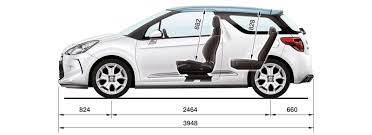 car boot prices guide citroen ds3 sizes and dimensions guide carwow