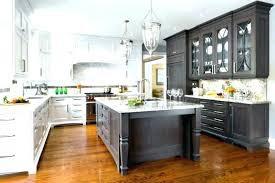 kitchen cabinet refinishing ideas grey stained cabinets weathered oak cabinet refinishing experimental