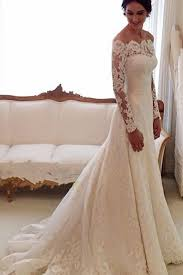 trumpet sleeve wedding dress scalloped lace chapel trumpet sleeves wedding dress