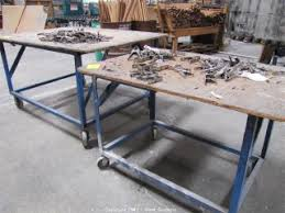 Rolling Work Benches West Auctions Window Manufacturing Company In Vacaville Ca