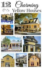 yellow exterior paint yellow house love blue shutters yellow houses and blue grey