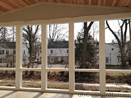 homewood in kirkwood u2013 vaulted porch ceiling u0026 pvc framing