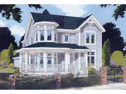 victorian house plans with turrets blue victorian style house