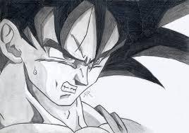 goku ka ha haaaaaa hand drawn deviantart