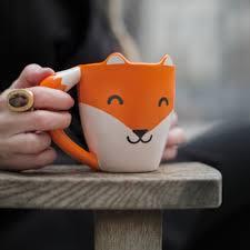 thumbs up usa fox mug