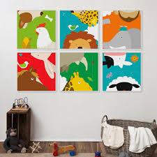 Panda Nursery Decor by Aliexpress Com Buy Kawaii Animal Panda Lion Poster Print Nordic