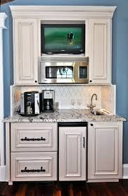 Microwave Inside Cabinet Where To Put The Microwave In Your Kitchen Huffpost