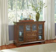 kitchen buffet hutch with kitchen buffet with white curtain and