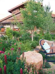 this woody creek garden is green dream for spring aspen sojourner