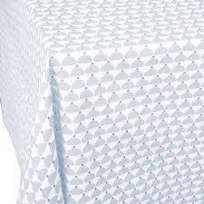nappe en coton enduit nappe enduite chic gris objets design la cocotte paris