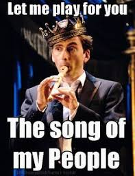David Tennant Memes - tennant with a flute your argument is so invalidated david