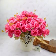 fake flowers for home decor compare prices on persian wedding decoration online shopping buy