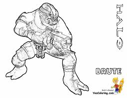 image gallery halo hunter coloring pages
