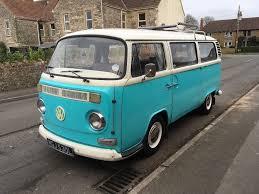 volkswagen type 2 vw volkswagen t2 type 2 bay window campervan 1972 tax exempt in