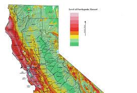 earthquake hazard map earthquakes vulnerability assessment