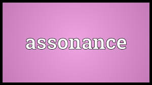 assonance meaning youtube