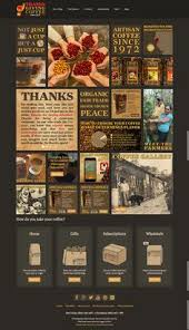visual layout for thanksgiving coffee company s mission statement