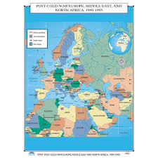 map of europe russia middle east universal map u s history wall maps post cold war europe